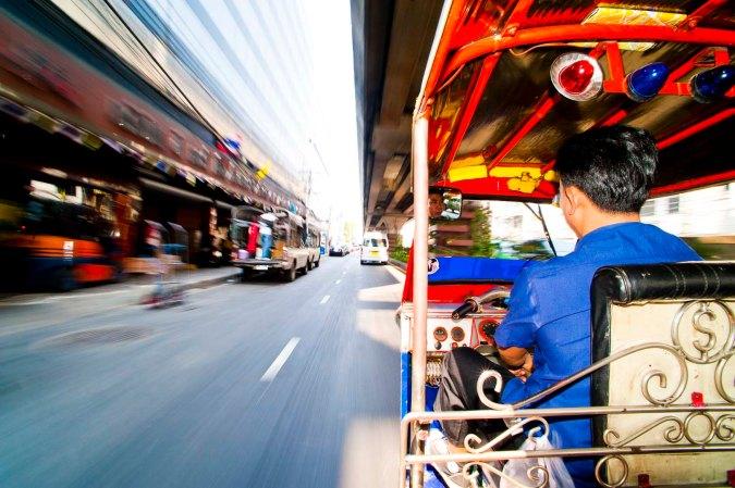 Tuktuk in Bangkok, Thailand, by freelance travel photographer Matthew Williams-Ellis